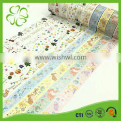 Japanese Waterproof Washi Paper Tape for Masking and Decoration