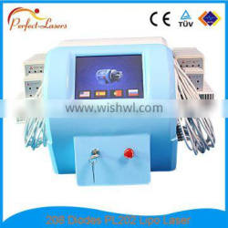 Quick Slim! CE Approved 650nm& 980nm Dual Lipo Laser Pressotherapy Slimming Machine Infrared