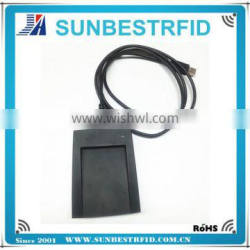125khz or 13.56mhz cheap desktop usb rfid reader