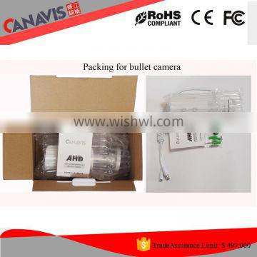 for outdoor/indoor high vision 1.0 megapixel 720p bullet cctv ahd camera