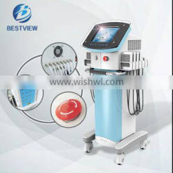 Vertical lipo removal 980nm/650nm laser belly fat burner weight loss equipment for home