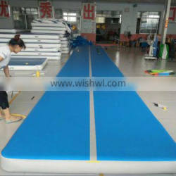 taekwondo tumble floating water mat air track inflatable airtrick