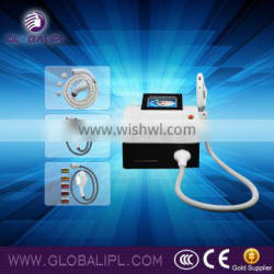 e-light rf hair removal pigment remove beauty machine no noise water pump