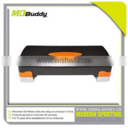 Adjustable exercise aerobic step board can load 250kgs