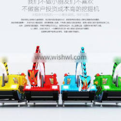 QH-E007 2015 new product children game simulate excavator toy