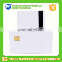 8.4mm Hico magnetic stripe for SLE4442 Contact smart card