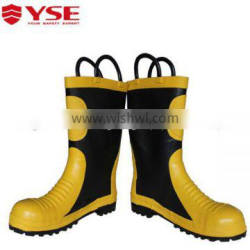 Fire resistant safety boots,for fireman use safety boots
