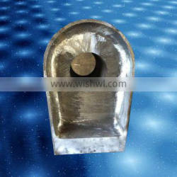 High quality lower rudder carrier castings for shipbuilding