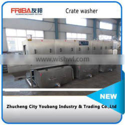 Good cleaning effect turnover basket washer
