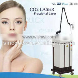 FDA approved CO2 Fractional RF tube laser for face lifting for sale