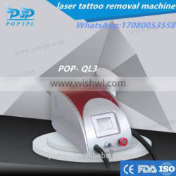 POP IPLLaser Tattoo Removal System CE / Q-switch tattoo removal laser