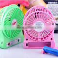 Newest Portable USB MINI FAN 18650 Lithium Fattery Fan Rechargeable Turbo Fan High Quality 7 Colors/mini portable fan