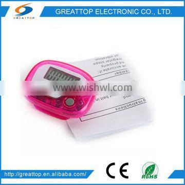 Greattop pedometer with single button PDM-2005