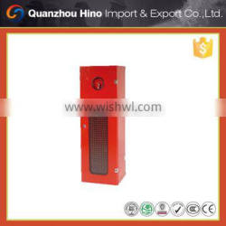 Fire resistant cabinet for fire extinguisher safety type