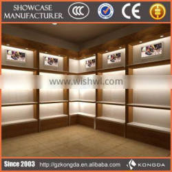 High-end whole image modern shoes shop interior design