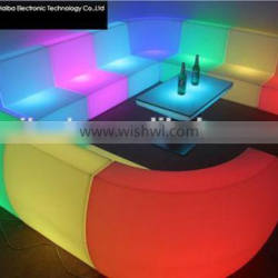led bedroom furniture sofa fabric price per meter From China