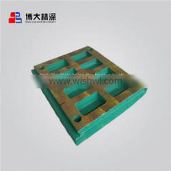 apply to Nordberg C120 jaw crusher china produce spare parts swing fixed jaw plate