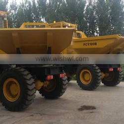 Garden farm use transporter hydraulic small FCY100 Loading capacity 10 tons gardenminidumper with cheapest price