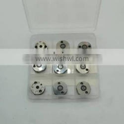 10#orifice control valve plate engine Common Rail spare part diesel for injector 095000-6350, 095000 6350, 0950006350