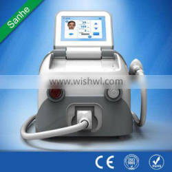 Diode 808nm laser painless soft light laser hair removal equipment