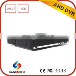 2015 New Technology h 264 1080P 8channel AHD DVR