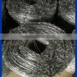 High security,attractive and durablebarbed wire fencing prices for prison,railway