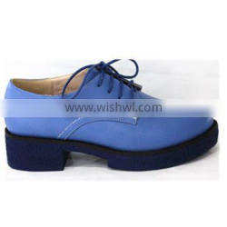 original brand round toe lace-up women shoes