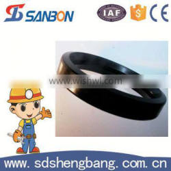 EM/SAE standard 8 grooved coupling concrete pump spare pats rubber seal
