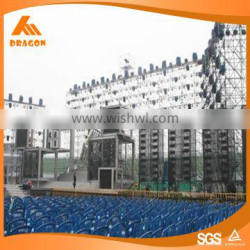 Eco-Friendly used galvanized steel layer truss