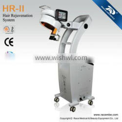 Professional/Newest PDT/EMS/Oxygen Jet Hair Rejunvenation System For Hair Regrowth and Anti-Hair Loss HR-II
