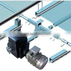 Rack Drive Curtain Greenhouse Shading System