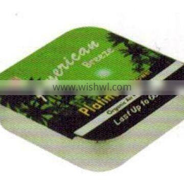 small condom can package