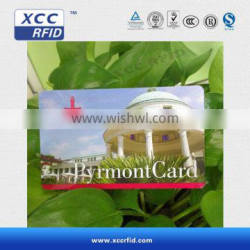 13.56MHz S501K /F08 PVC Contactless Smart Card
