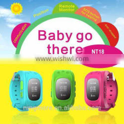 2016 Live tracking Low cost GSM gprs watch gps tracker for child
