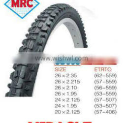china factory 20 x 2.125 bicycle tyre