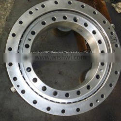 China factory supply XU 202300 crossed roller bearing without gear teeth 2400*2200*73mm