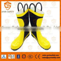 Firefighting fireman boots/heat resistant boots/fire resistant boots -Ayonsafety
