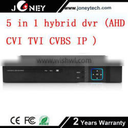 New product hot sell cheap dvr 16CH 1080N security camera system hybrid AHD DVR