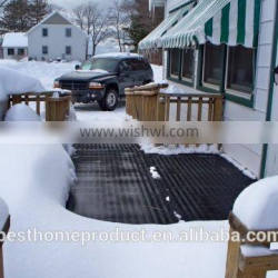 2015Newes Stylish black color snow melting mats for roofs