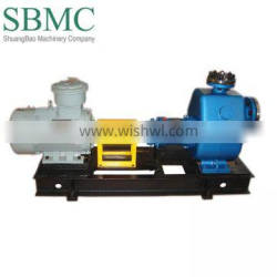 Centrifugal pump for sodium hypochlorite without electric motor