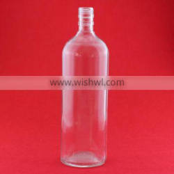 High moods cheap 30oz glass water bottle clear round bottles milk large capacity bottles
