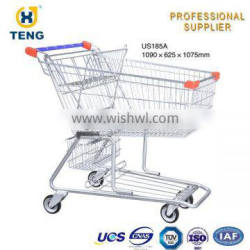 hot sale for US style unfold shoping trolley