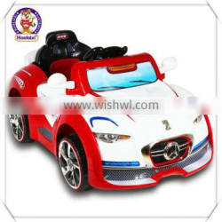 New Red Toy Car with Remote Control / Kids Battery Operated Toy Car