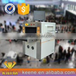 Keene Engineering Small Tunnel Size X-Ray Baggage Scanner, Airport Security X-ray Baggage