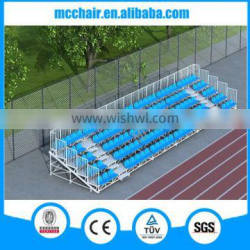 MC-TG02 removable Metal structural Bleacher for outdoor horse racing use
