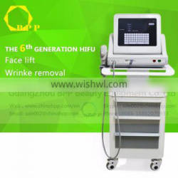 2016 New arrival focused hifu beauty machine for wrinkle removal