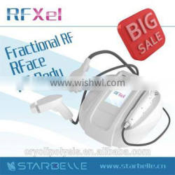 High quality korea rf skin tightening machine with 3 handpieces