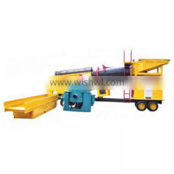 High Efficiently Gold Processing Equipment Wash Plant
