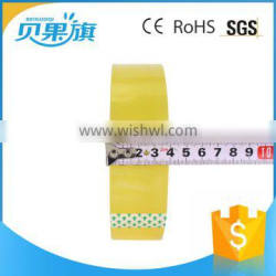 different size sticky waterproof packing custom printed water proof BOPP manufacturers reflective tape