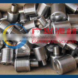 stainless steel 304 resin retaining screen, filter nozzle strainer